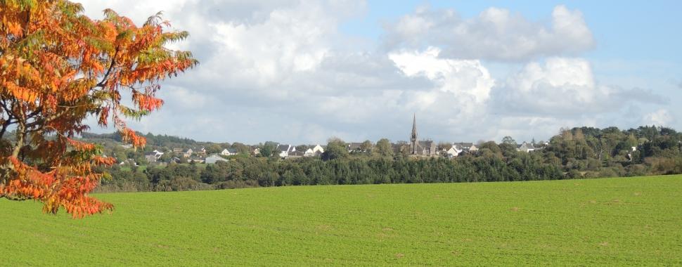 Vue de Locmélar - Crédit photo : site de la mairie de Locmélar